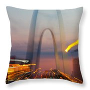 Arch Special Effect Throw Pillow