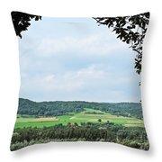 Arch To Austria Throw Pillow