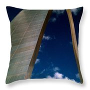 Arch To The Sky Throw Pillow