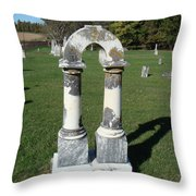 Arch Tombstone2 Throw Pillow