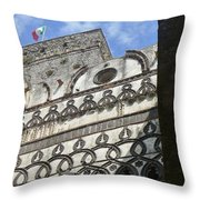 Arch View Throw Pillow