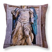 Archangel Michael Throw Pillow