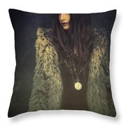 Florence V Throw Pillow
