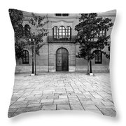 Archbishop's Palace Granada Throw Pillow