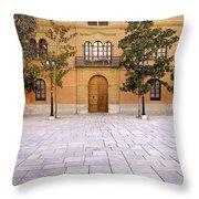 Archbishop's Palace Throw Pillow