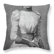 Archduchess Marie Valerie Of Austria Throw Pillow