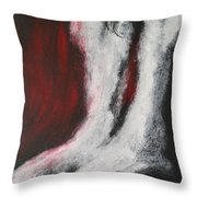 Arched Back Throw Pillow