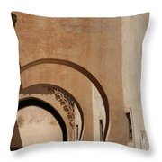 Arches  Throw Pillow