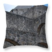 Arches And A Cross Throw Pillow