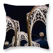 Arches And Angles 1 Throw Pillow