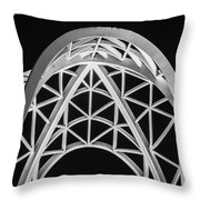 Arches And Angles 2 Throw Pillow