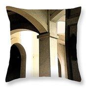 Arches Fresco Throw Pillow