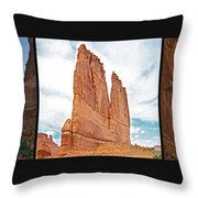 Arches National Park Panel Throw Pillow