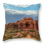 Arches National Park Pano Throw Pillow