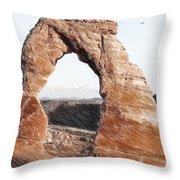 Arches National Park-utah Throw Pillow