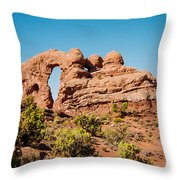 Arches Np Throw Pillow