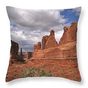 Arches Park Avenue Throw Pillow