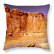 Arches Wall Throw Pillow