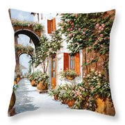 Archi E Orci Throw Pillow