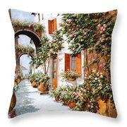 Archi E Orci Throw Pillow