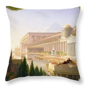 Architects Dream Throw Pillow
