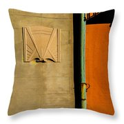 Architectural Detail 1a Throw Pillow