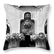 Architectural Detail - Barcelona - Spain Throw Pillow