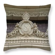 Architectural Embellishments Throw Pillow