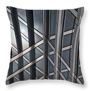 Architectural Lines Throw Pillow