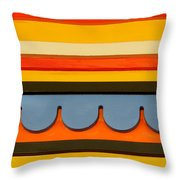 Architectural Molding Throw Pillow