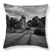 Architectural Treasure Bw Throw Pillow