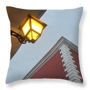 Architecture And Lantern 3 Throw Pillow