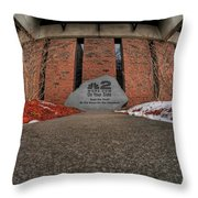 Architecture And Places In The Q.c. Series 2 On Your Side Throw Pillow