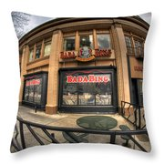 Architecture And Places In The Q.c. Series Badabing Throw Pillow