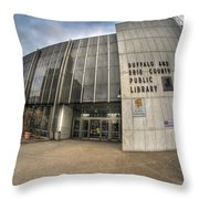 Architecture And Places In The Q.c. Series Becpl Throw Pillow