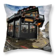 Architecture And Places In The Q.c. Series Laughlin's Throw Pillow