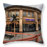 Architecture And Places In The Q.c. Series Purple Monkey Throw Pillow