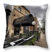 Architecture And Places In The Q.c. Series Snooty Fox Throw Pillow