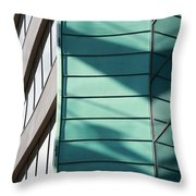 Architecture And Shadows Throw Pillow