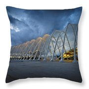 architecture by Calatrava Throw Pillow