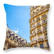 Architecture In Buenos Aires Throw Pillow