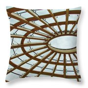 Architecture In Color Throw Pillow