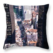 Architecture New York Ny Usa Throw Pillow
