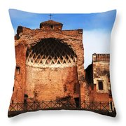 Architecture Of Italy Throw Pillow