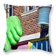 Architecture - Peggy Noland Building Throw Pillow
