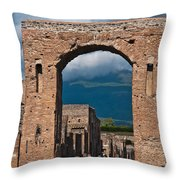 Archway Throw Pillow by Marion Galt