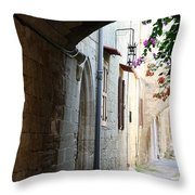 Archway Rhodos City Throw Pillow