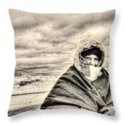 Arctic Indiana Throw Pillow