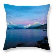 Arctic Slumber Throw Pillow
