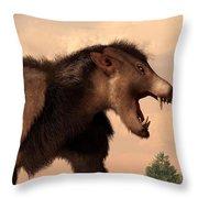 Arctocyon - Detail Throw Pillow